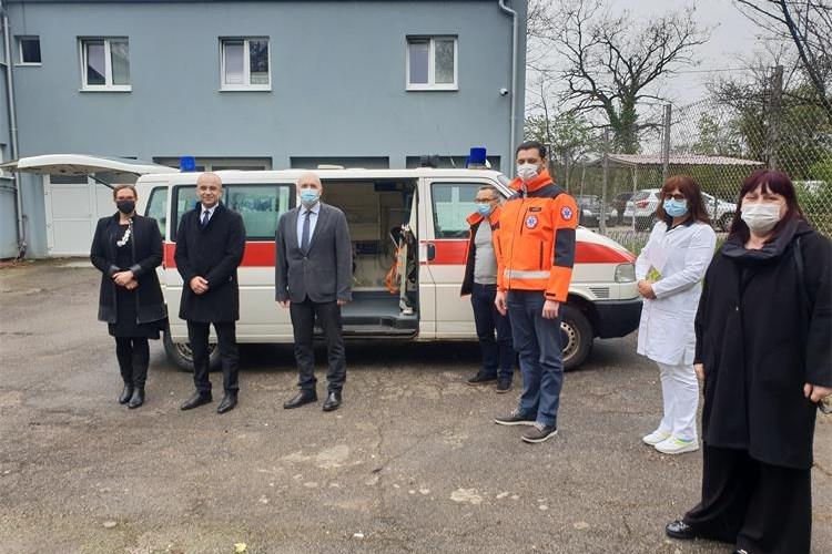 Donacija sanitetskog vozila zatvorskom sustavu